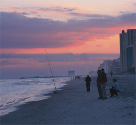 Myrtle Beach At Sunset Condos And A Dwindling Number Of Goers